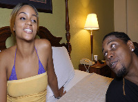 BLACK PORN VIDEO.... THE SEXY HONEY FUCKED BY BBC KING KREME