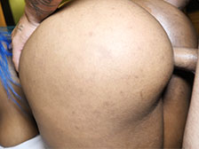 BLACK ON BLACK PORN ..SEXY EBONY MILF NYNY LEW FUCKS BBC ALEX DICKMEN Image 5